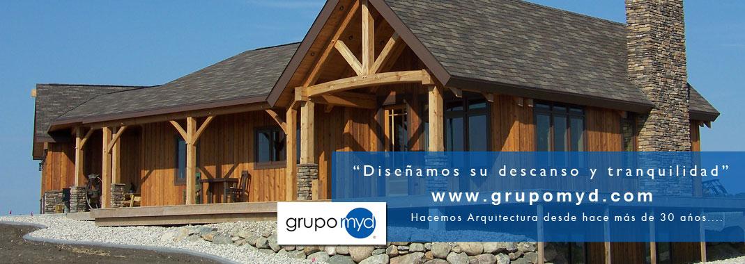 Proyectos de casas r sticas sevilla grupo myd for Casas ideas y proyectos