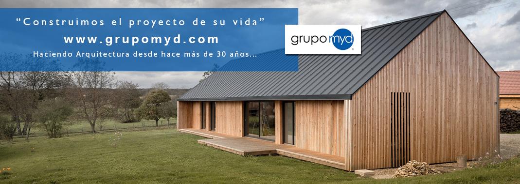 Proyectos de casas r sticas badajoz grupo myd for Casas ideas y proyectos